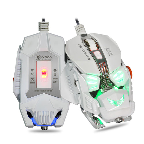Opto-electronic Wired Gaming Mouse