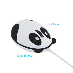 Wired Panda Mouse