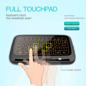 Wireless Touchpad Keyboard