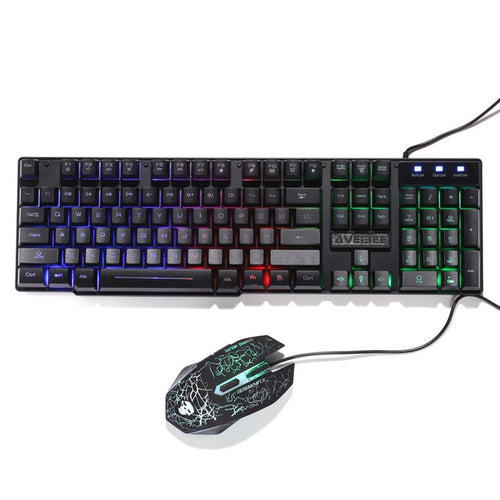 Luminous Keyboard & Mouse Set