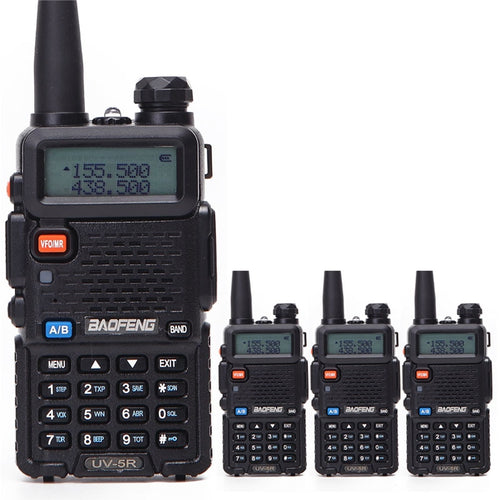 Dual Display Walkie Talkie