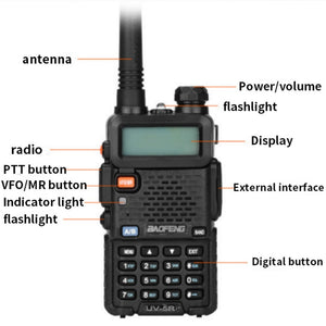 Manual Frequency Walkie Talkie