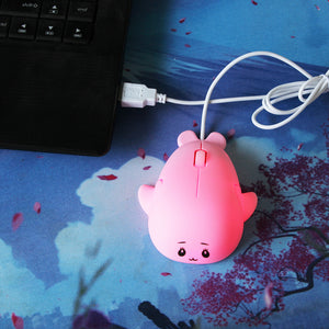 Dolphin Shape USB Wired Mouse