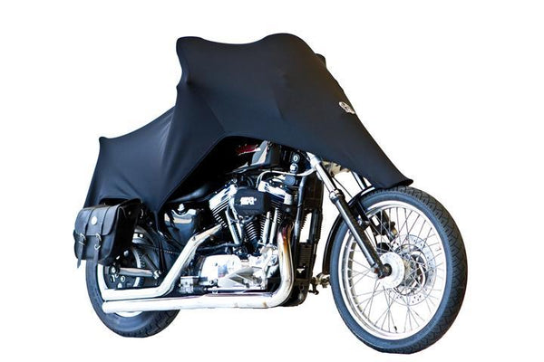 Harley Davidson Deuce >> Sportster Cover - Shade – Stretch Fit Motorcycle Covers | SKNZ Custom Stretch Covers