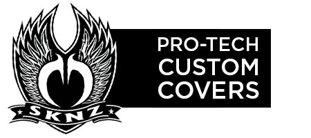 Stretch Fit Motorcycle Covers | SKNZ Custom Stretch Covers