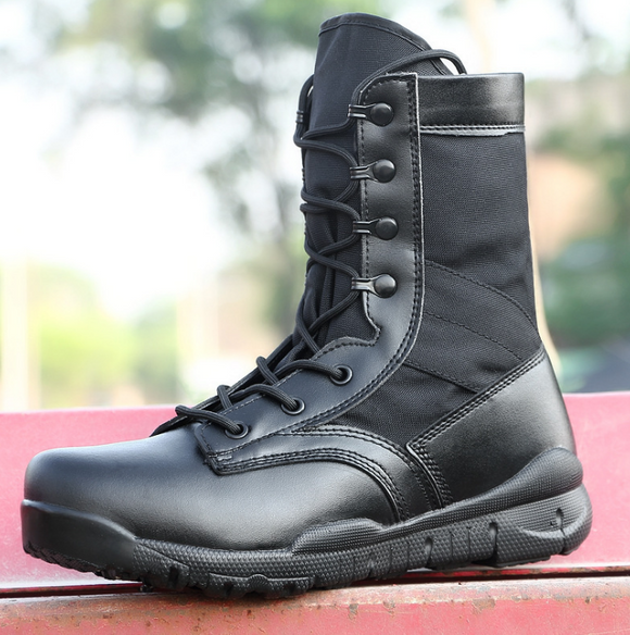 【Black】Outdoor combat boots