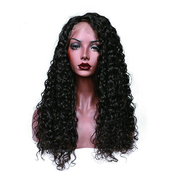 LACE FRONT HUMAN HAIR WIGS DEEP WAVE