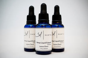 Hemp Extract Lemon Flavor (600 mg) $59.99