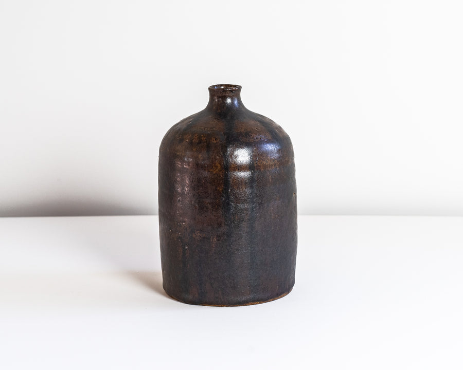 Bottle Vase Walnut #16