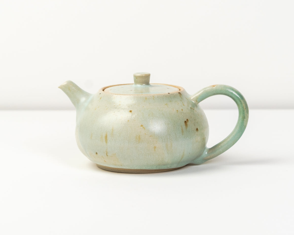 Tea Pot - Sea Green - 1