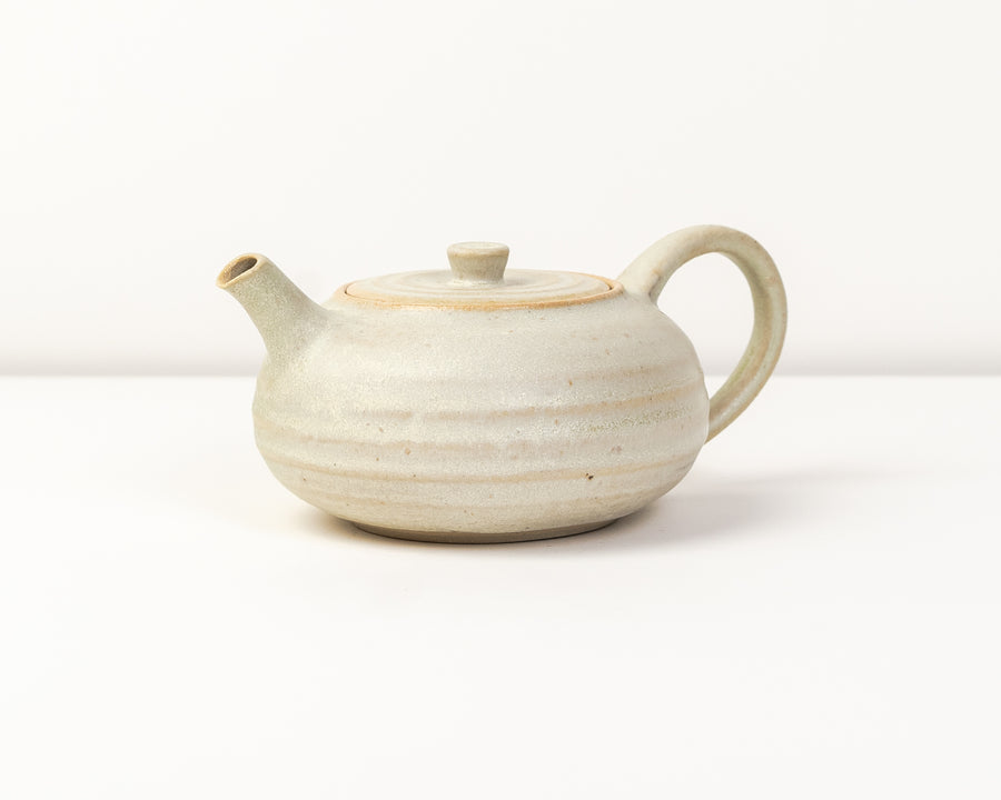 Tea Pot - Alabaster