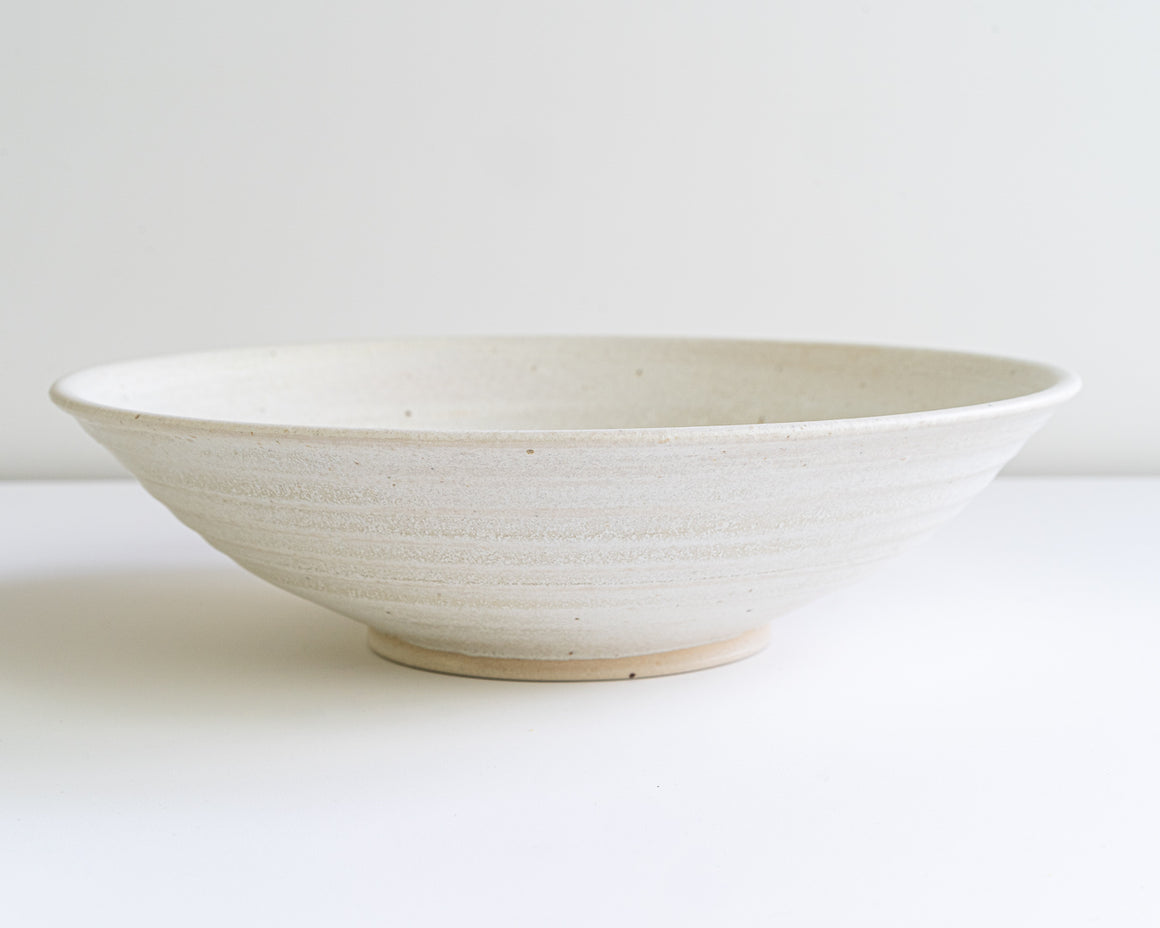 Shallow Ramen Bowl  - Alabaster - 1