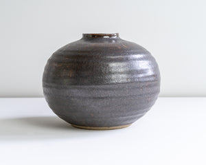 Moon Vase  - Walnut