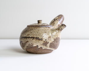 Side Handle Tea Pot - Rustic Neutral