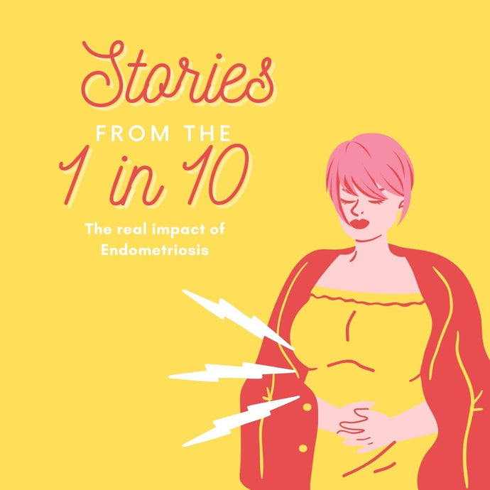 Endometriosis awareness month - featured stories and advice from the 1 in 10