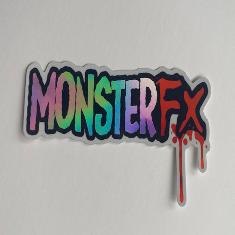 MonsterFX Holographic Sticker