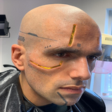Cyberpunk Prosthetics / Robot / Cyborg / Latex Free / Silicone / Makeup - MonsterFX