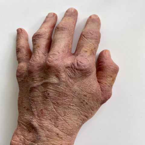 Old Age Hands / Aging / Cosplay / Latex Free / Makeup - MonsterFX
