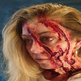 Werewolf Attack Wound / Trauma / Laceration / Latex Free / Makeup - MonsterFX