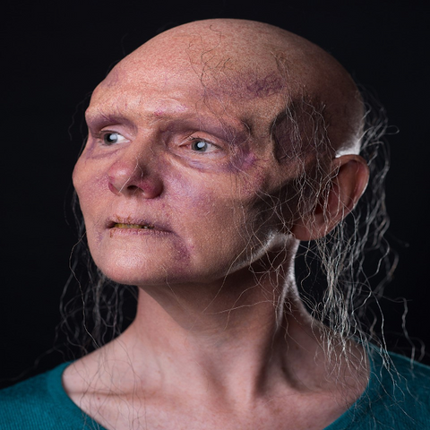 Zombie Brow w/ Nose Ridge / Undead / Walker / Latex Free / Makeup - MonsterFX