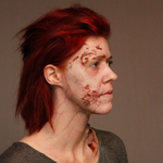 Zombie Skin Set / Undead / Walker / Wound / Latex Free / Makeup - MonsterFX