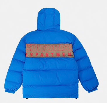 NYFW - Puffer Jacket (Blue) - SAUCED