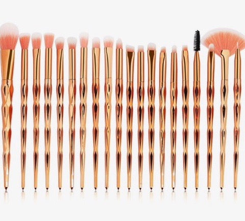 Gold Chic - Brush Set - SAUCED
