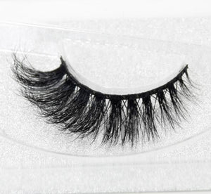 Miami Girl -  3D Mink Lashes - SAUCED