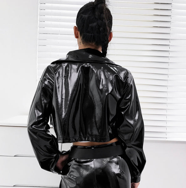Dang Girl - Leather Jacket - saucedoutfittersnyc