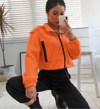 Pumpkin Spice - Cropped Jacket - SAUCED