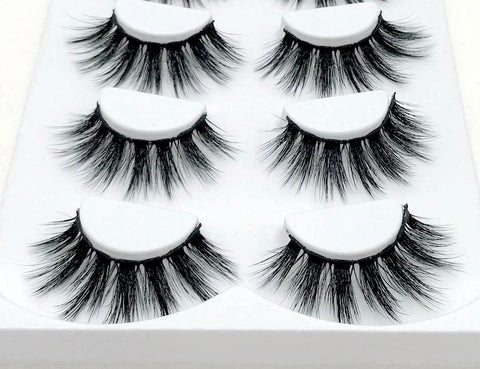 Rihanna Mink Eyelash - Set - SAUCED