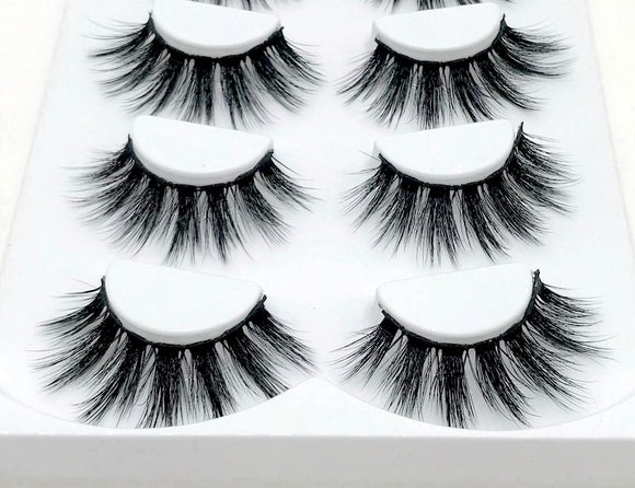 Ri Mink Eyelash - Set - SAUCED