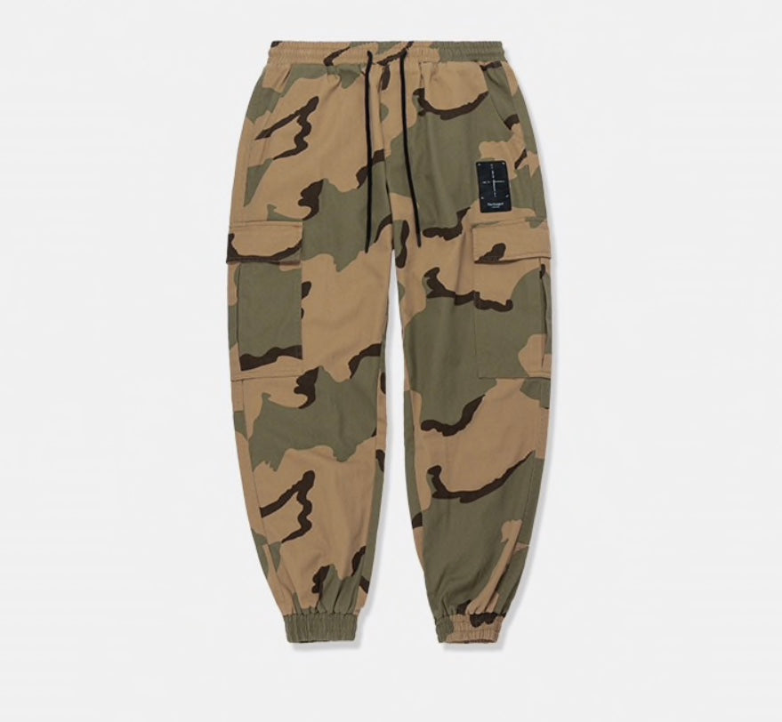 Sauced Camo - Brown Joggers - saucedoutfittersnyc