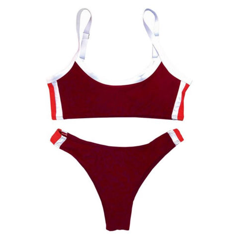 Catch the waves - Bikini Set (Red)