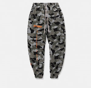 Saucey - Camo Joggers (BL) - saucedoutfittersnyc