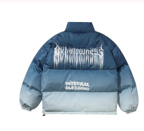 SAUCED. Unisex puffer Jacket - Blue - SAUCED