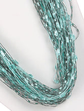 Load image into Gallery viewer, Necklace Multi Strand Yarn Multi-color