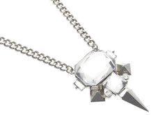 Load image into Gallery viewer, Necklace Spike Design Link Clear