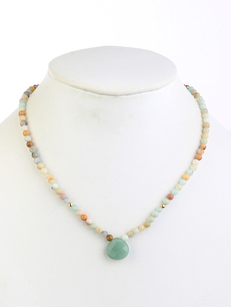 Necklace Natural Stone Bead 1