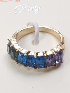 Ring Crystal Stone Size 7