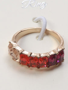 Ring Crystal Stone Size 8
