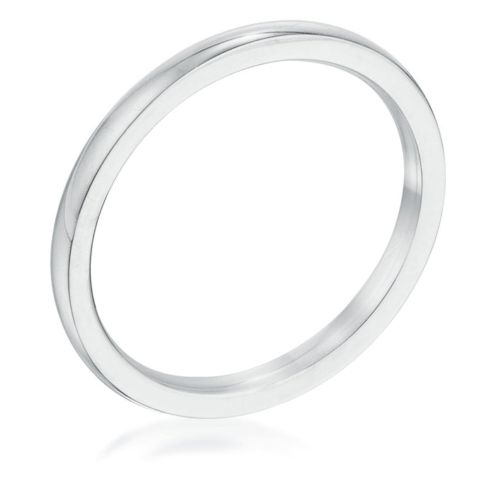 2 Mm Stainless Steel Wedding Band