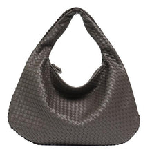 Load image into Gallery viewer, Vegan Leather Hobo Bag Woven Small or Large Shoulder Bags - Stephie Cathy - Glitzy Swan