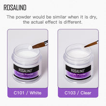 Load image into Gallery viewer, Rosalind Acrylic powder Set Nail Kit 3 Colors Carving Nail Art Gel For Extension Manicure Tools Set Acrylic powder for Nails - Haute Swan LLC