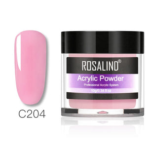 Rosalind Acrylic powder Set Nail Kit 3 Colors Carving Nail Art Gel For Extension Manicure Tools Set Acrylic powder for Nails - Haute Swan LLC