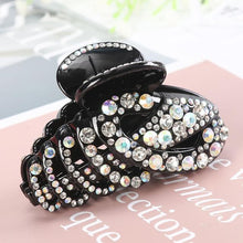 Load image into Gallery viewer, Beautiful Colors Crystal Butterfly Hair Claws Clips Hair Accessories - Glitzy Swan