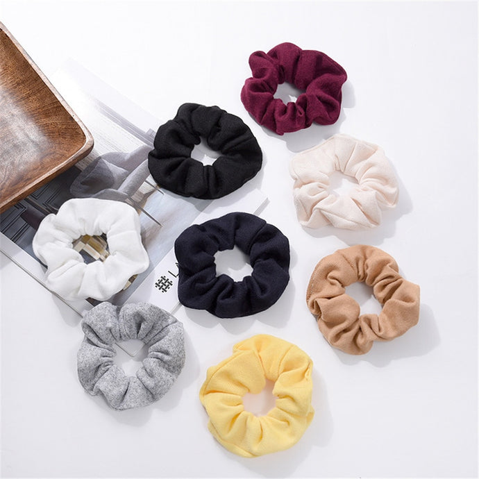 Scrunch Hair Accessory Hair Band Ponytail Holder