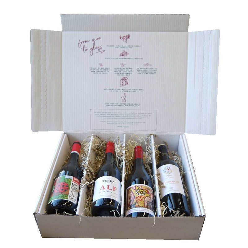 Mixed Fruity Reds Wine Gift Box