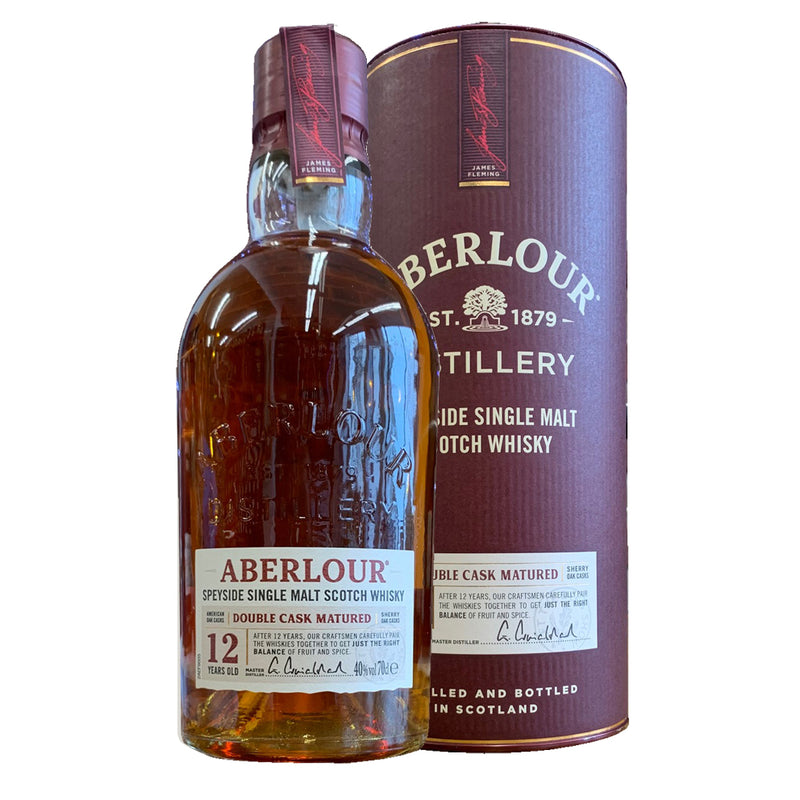 Aberlour 12yr single malt whisky