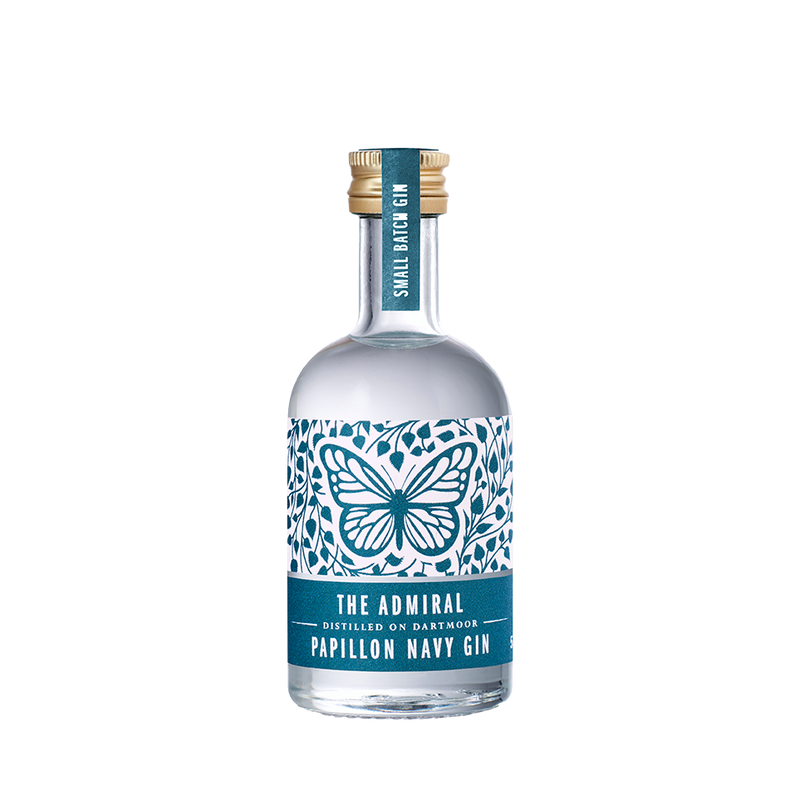 The Admiral Papillon Navy Strength 5cl